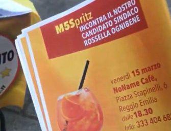 """Venerdì 15 marzo a Reggio """"M5Spritz"""" con la candidata sindaco Rossella Ognibene"""