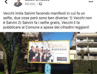 """Salati posta su Fb: """"Vecchi fa campagna elettorale con i soldi dei cittadini"""". Poi cancella"""