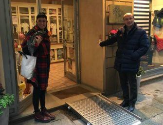 Reggio, nuovi kit per negozi a misura disabili