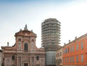 """Restauro di San Prospero: """"Per la torre mancano i soldi del Comune"""""""