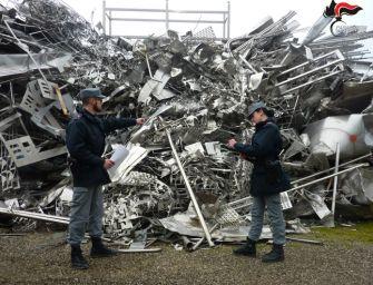 Novellara e Poviglio: traffico illecito di rifiuti in metallo, 2 imprenditori indagati