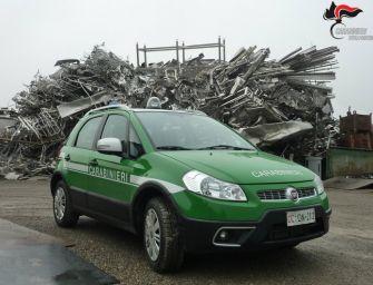 Reggio. Gestione illecita di rifiuti in discarica abusiva: 2 imprenditori denunciati