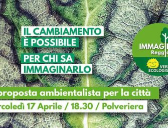 Immagina Reggio, lista che corre per Vecchi, presenta i candidati