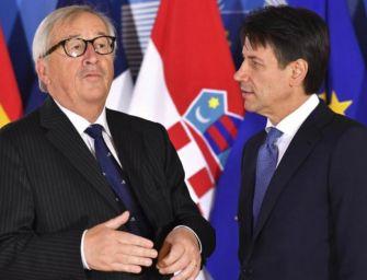 Juncker: Italia continua a regredire, sono preoccupato