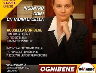 Reggio. La Ognibene (5s) incontra i cittadini di Cella