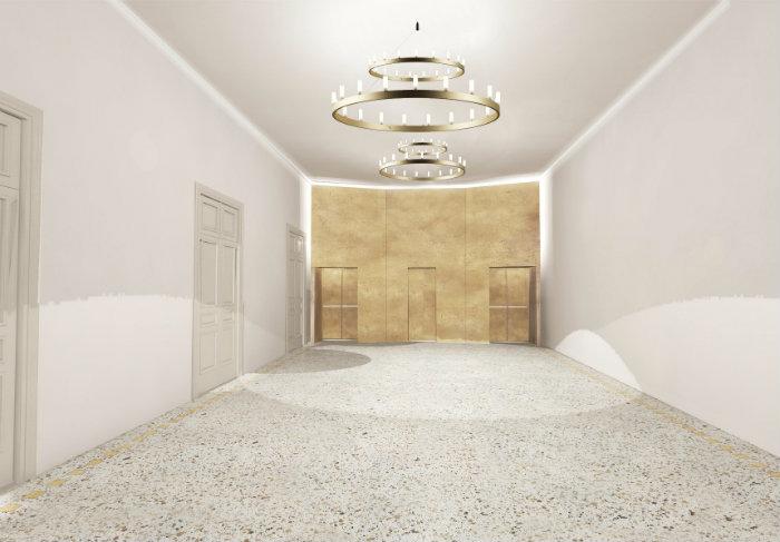 Sala Verdi Teatro Ariosto di Reggio Emilia – vestibolo