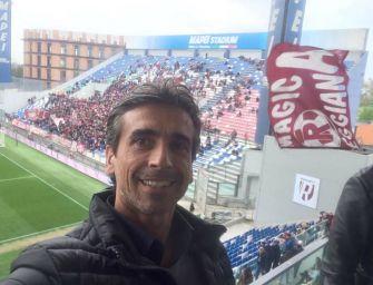 Salati ai tifosi della Reggiana: quando sarò sindaco mi farò sentire alla Mapei