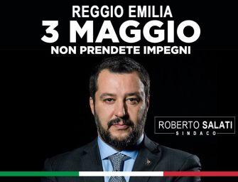 Salati conferma: Salvini a Reggio il 3 maggio