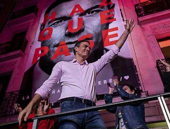 I socialisti hanno vinto le elezioni in Spagna