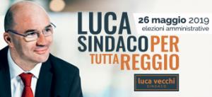 Luca Vecchi Sindaco per tutta Reggio 2019