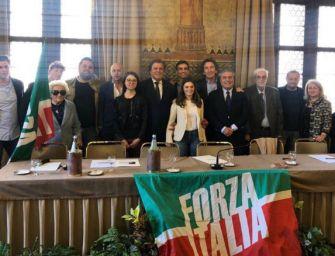 Reggio, presentati i 26 candidati di Forza Italia al consiglio comunale