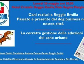 """Lunedì 20 maggio a Reggio una serata contro il """"dog business"""""""