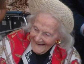 Reggio, festa per Eva Panciroli: compie 108 anni