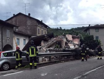 Esplosione di una casa a Mazzalasino, morto il 47enne che ci abitava
