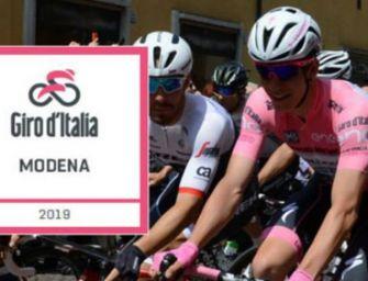 Martedì il Giro d'Italia fa tappa a Modena