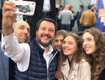 Il tour elettorale di Salvini ripassa dall'Emilia, atteso martedì a Carpi