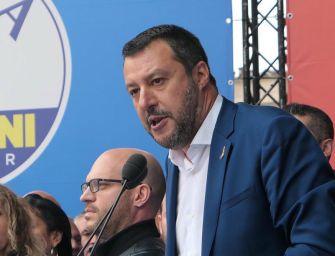 Salvini a Milano con l'ultradestra