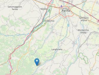 Terremoto 3.4 a Tizzano, in Val Parma