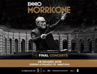 The final concerts: 60 Years of music, Ennio Morricone a Mantova