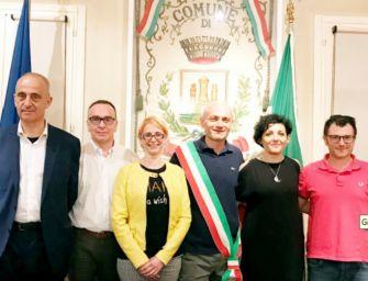 Casalgrande, la nuova giunta del sindaco Daviddi