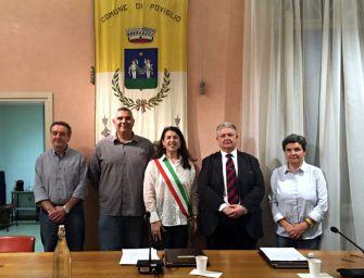 Nominata la nuova giunta comunale di Poviglio: al fianco della sindaca Ferraroni due assessori interni e due esterni