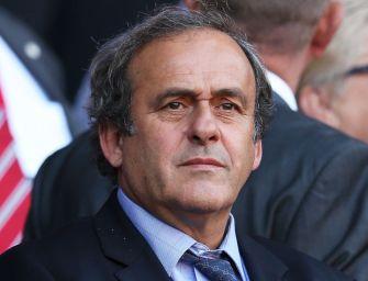 Michel Platini fermato per corruzione