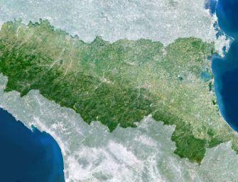 Emilia tra le regioni dell'area gialla