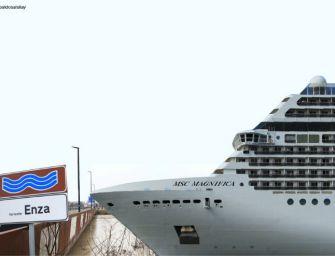Grandi navi in Val d'Enza