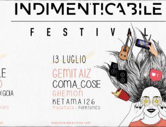 Venerdì 12 e sabato 13 luglio al Bologna Sonic Park arriva l'Indimenticabile Festival
