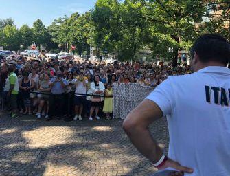Video. Salvini a Bibbiano: qui da papà, giù le mani dai bimbi