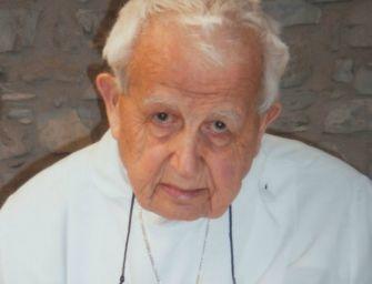 Morto monsignor Gino Castellini, storico parroco di Cerrè Sologno