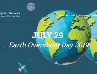 Overshoot Day, finite le risorse 2019 del Pianeta