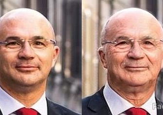 Faceapp, così i politici reggiani tra 20 anni?