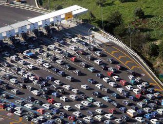 Autostrade, traffico: ultimo week di rientri