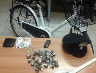 Reggio. Spaccia con bici rubata, ma è tradito dal Gps: arrestato