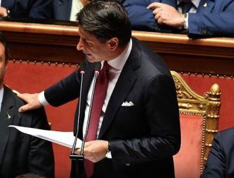 """Crisi di governo, Conte annuncia le dimissioni: """"L'esperienza Lega-M5S si arresta qui"""""""