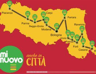 In Emilia-Romagna torna il bus gratis per gli abbonati ai treni regionali