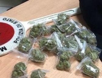 Reggio. In viaggio con 6 chili di marijuana nello zaino, 31enne arrestato appena sceso dal treno