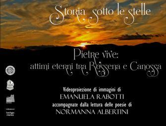 'Pietre vive', la magia matildica fra i castelli di Rossena e Canossa