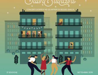 Reggio. Suoni dai balconi, a settembre tornano i concerti sospesi nei quartieri