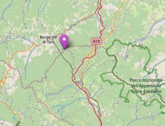 Terremoto di 3.9 in Appennino parmense