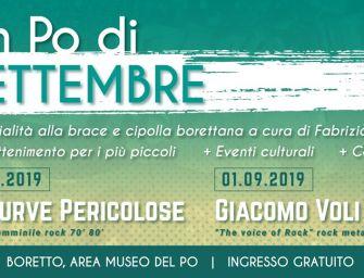 """Nel weekend a Boretto """"Un Po di settembre"""", due giorni in riva al grande fiume"""