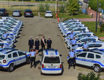 Modena, 33 nuove auto per la polizia municipale