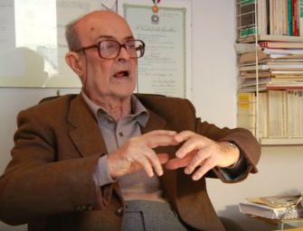 Campos Venuti a Istoreco: mi chiamò il Pci per cambiare l'urbanistica