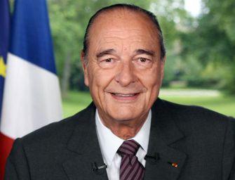 Francia in lutto, è morto Jacques Chirac