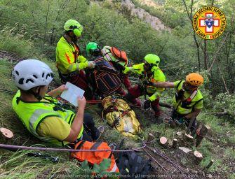 Cade in un dirupo e muore a Trignano 68enne fungaiolo di Vignola