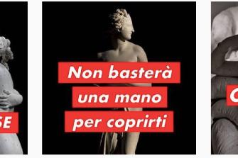 Instagram blocca una foto del gesso di Paolina Borghese a seno nudo di Canova: monta la protesta sul web
