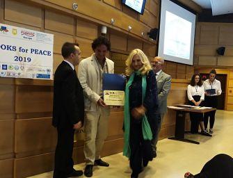 A Grasselli il premio 'Books for Peace' 2019