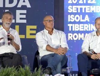 Delrio contestato alla festa di Fratelli d'Italia