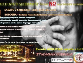 """""""Bimbi strappati alle famiglie"""", una fiaccolata a Bologna"""